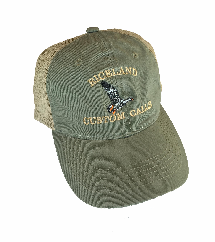 Olive mesh hat d89f0e94412